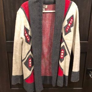 Anthropology brand Open sweater